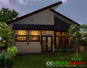 Desain Fasad Belakang Rumah Tropis Minimalis