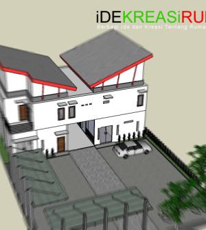 desain-tampak-atas-sketch-rumah-ruang-usaha-bengkel-cuci-mobil-by-idekreasirumahcom