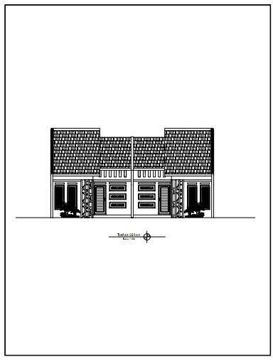 Rumah Minimalis Type 50 Kopel