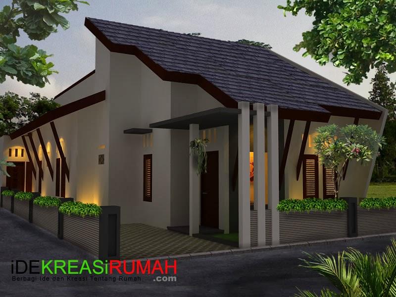 Desain Fasad Rumah 3D Modern Minimalis Tropis | Ide Kreasi Rumah