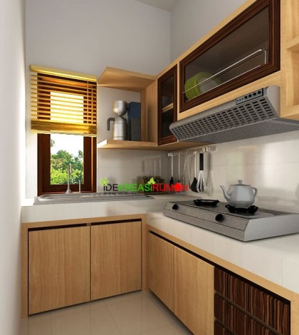 Kitchen set minimalis ide kreasi rumah for Katalog kitchen set