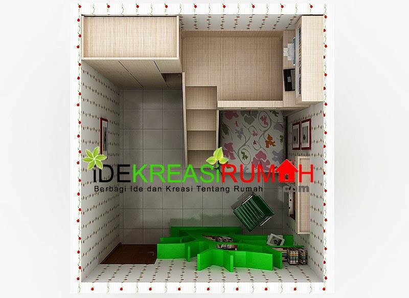 Desain Interior Unik Kamar Tidur Tingkat Untuk Anak | Ide ...