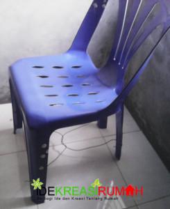 Cara menguatkan kursi plastik