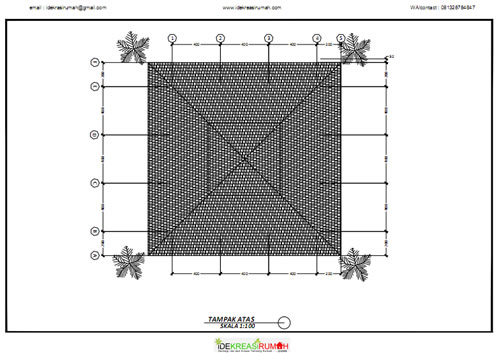 Rencana Atap Masjid
