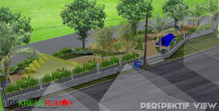 Desain Taman Bermain Anak Perpektif