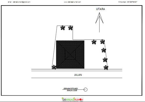 Siteplan Masjid