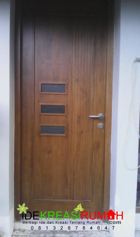 Model Pintu Modern Minimalis 1 Daun