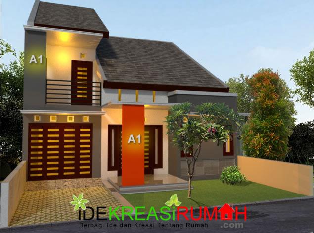 Desan Eksterior Rumah Tipe 150 Modern Minimalis