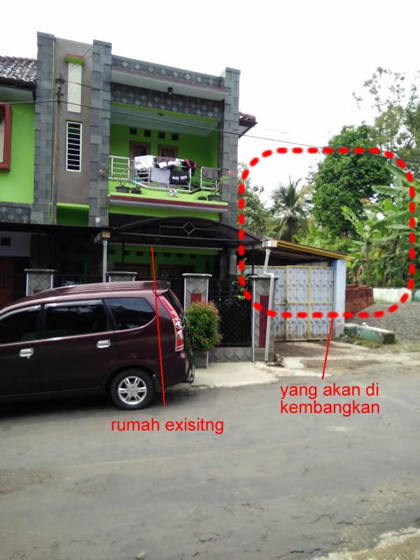 Foto Depan RUmah Existing