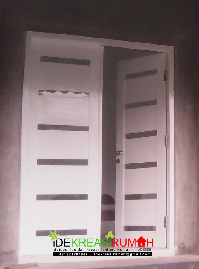 Pintu Minimalis Putih