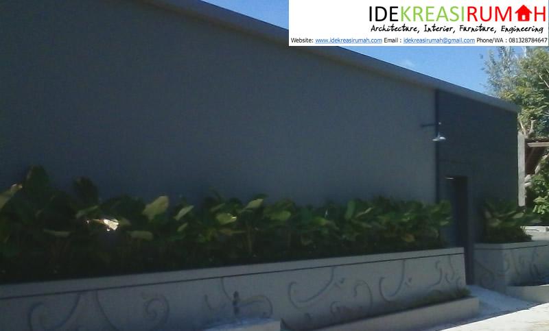 Dinding Floral untuk Fasad Rumah Unik