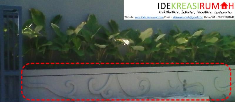 Detail Fasad Floral