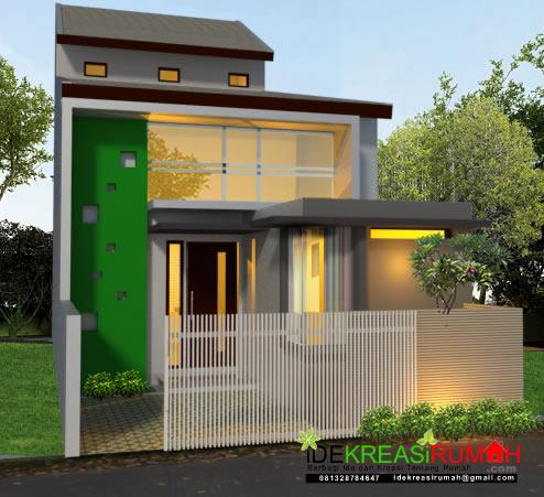 desain fasad tinggi untuk rumah minimalis 1 lantai ide