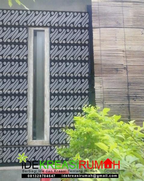 Desain Dinding Batik