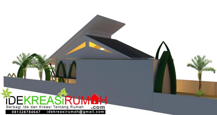 Sisi Belakang Masjid