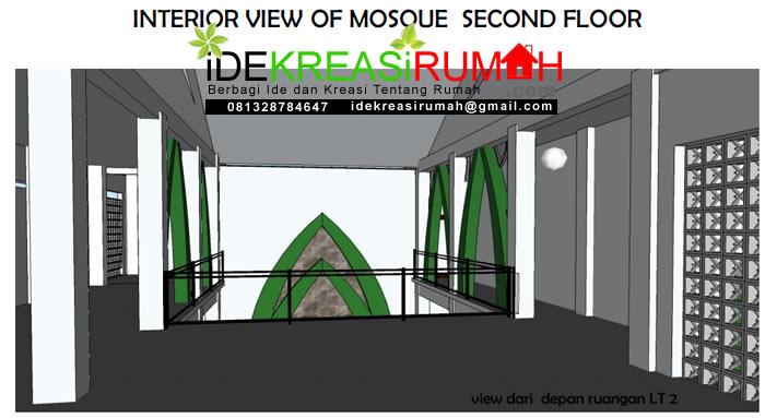 Interior Lantai 2 Masjid