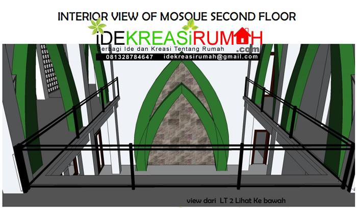 Inteiror Masjid View Ke Bawah