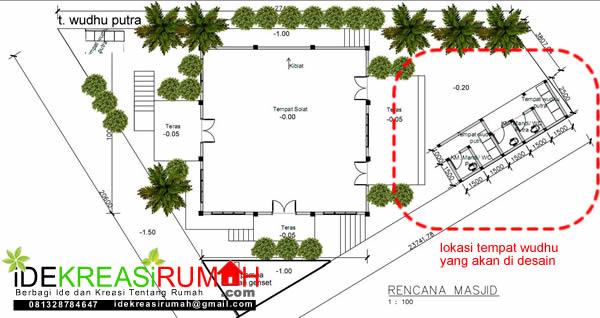 Site Plan Masjid