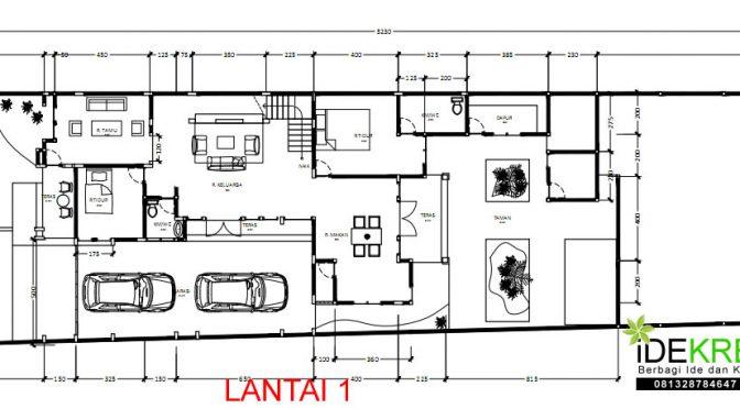 Denah Lantai 1