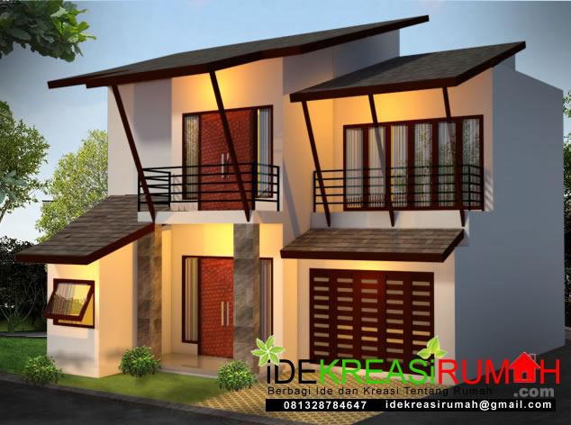 Desain Rumah Model Atap Anti Bocor