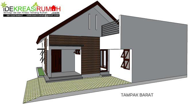Rumah Sederhana tampak samping
