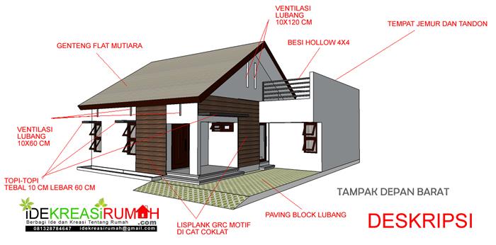 Deskripsi Umum Rumah Sederhana