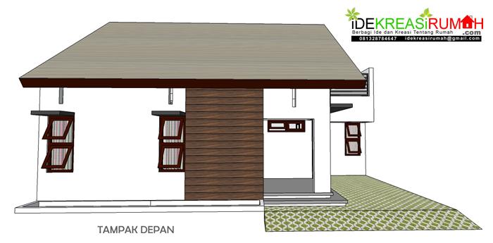 Rumah Simpel Tampak Depan