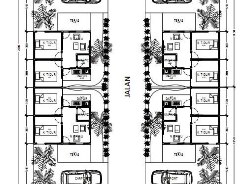Site Plan 4 Cluster
