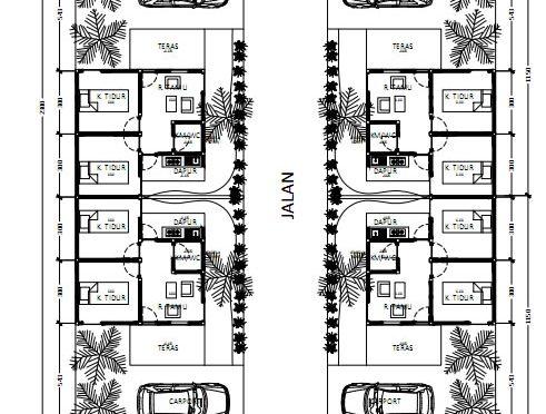 Site Plan 4 Cluster