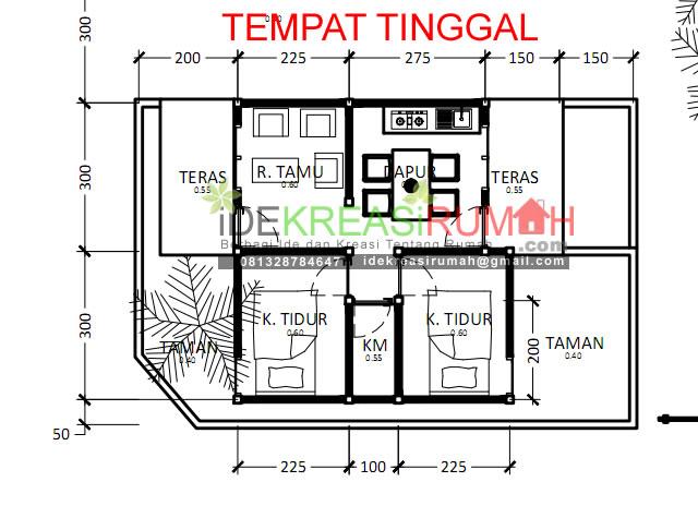 detail tempat tinggal
