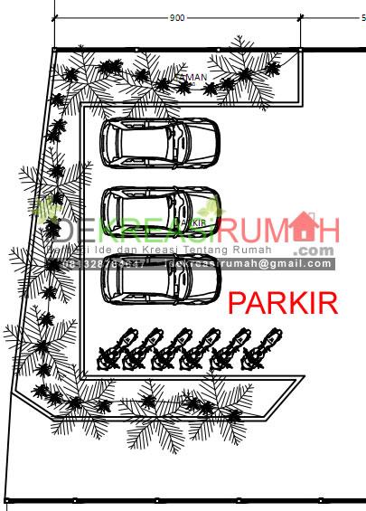 parkir dan taman