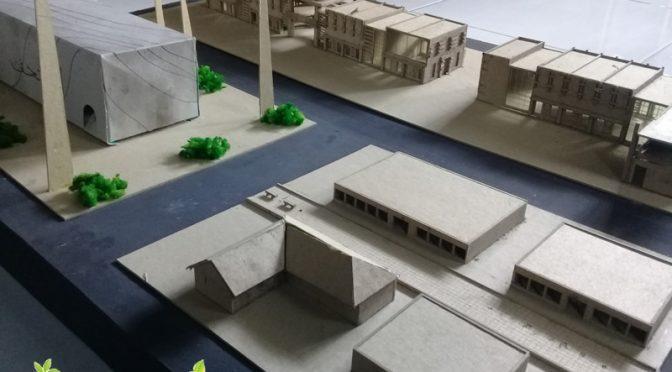 Contoh Maket Rumah Toko dan Museum