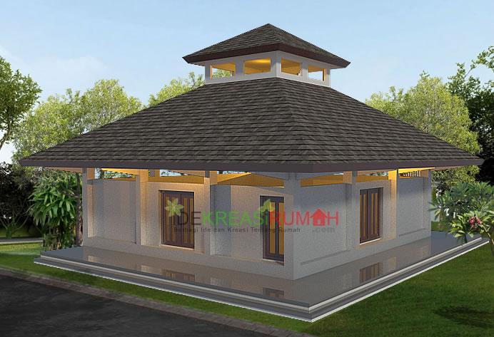 desain-masjid-sederhana-1-lantai