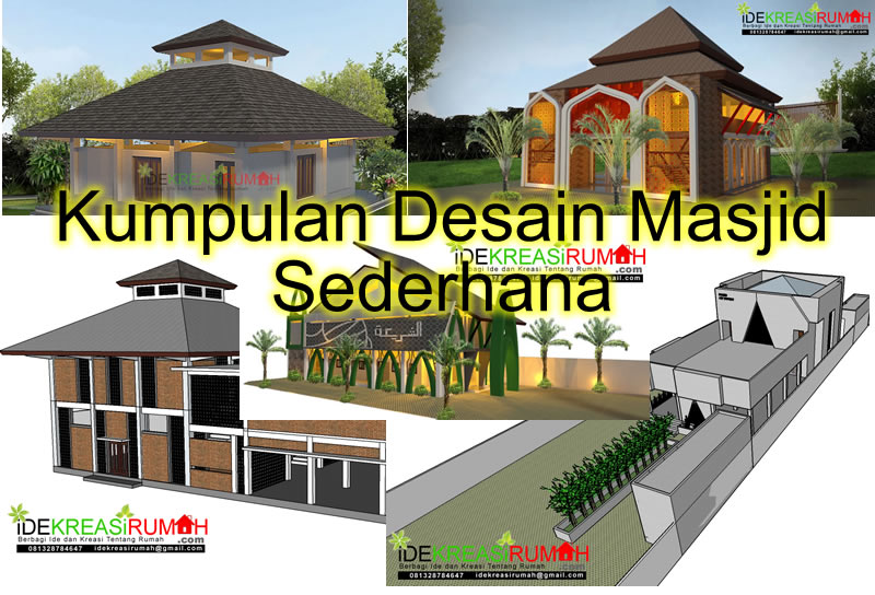 kumpulan-desain-masjid-sederhana-tropis