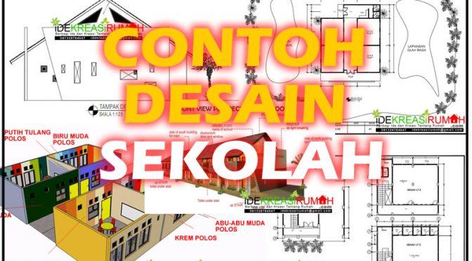 contoh desain sekolah