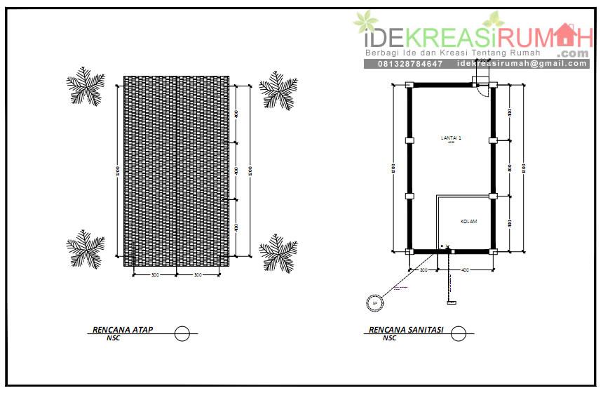 rencana-atap-dan-sanitasi-rumah-walet