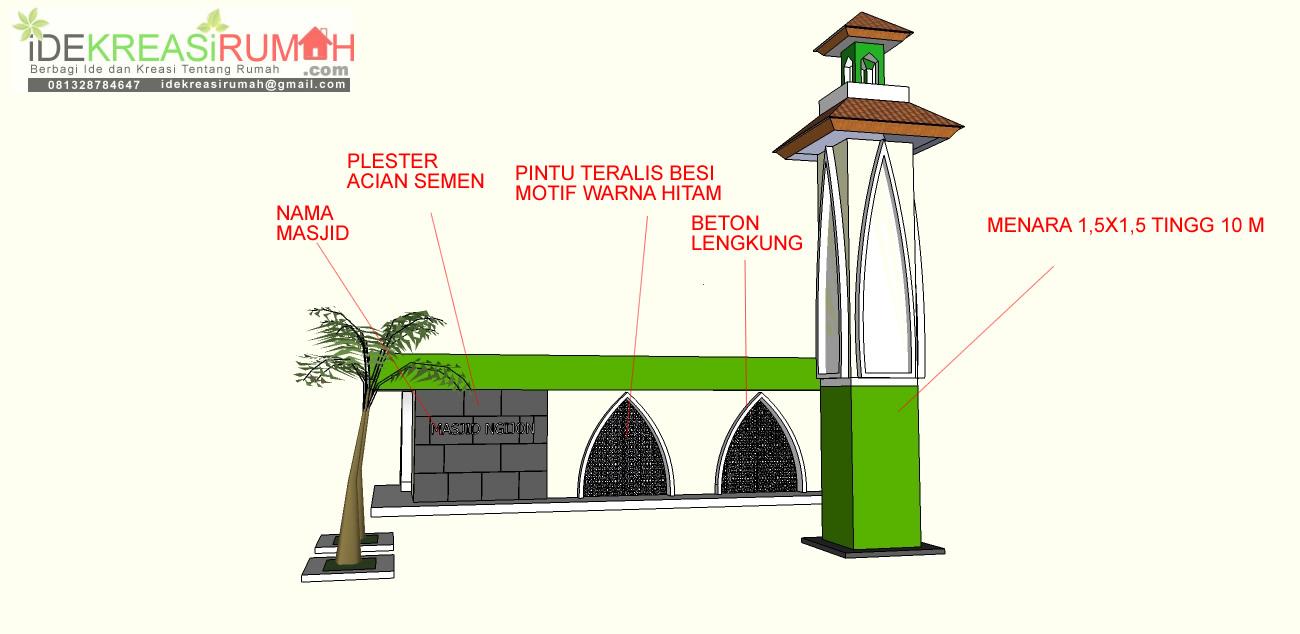 deskripsi renovasi masjid