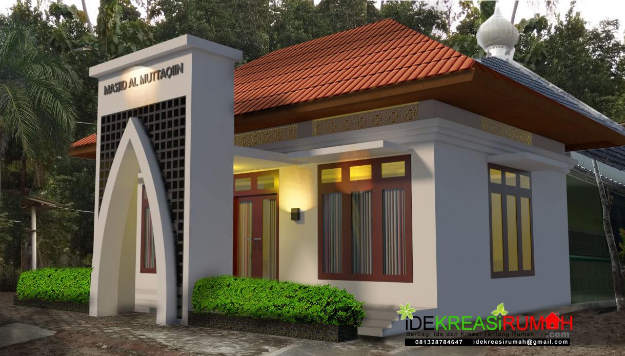 Rencana Renovasi Masjid Depan