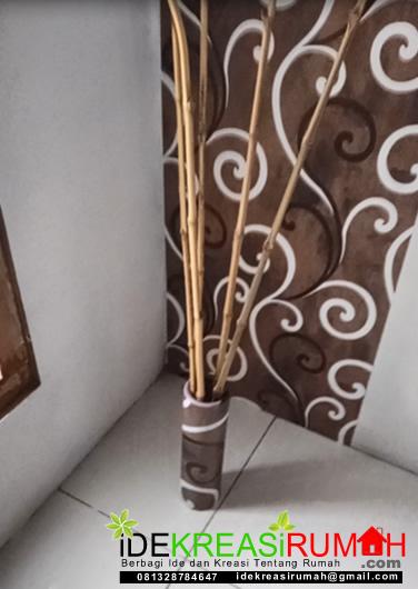 vase bunga kardus bekas wallpaper