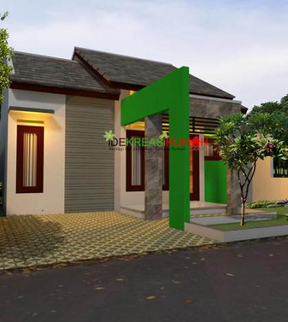 Desain Eksterior Rumah Tipe 54