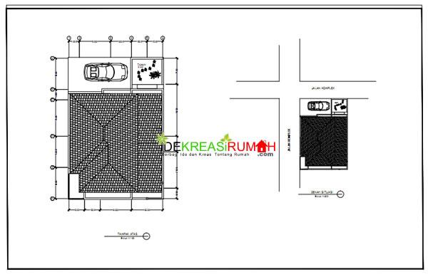 Contoh Gambar Kerja Rumah 2 Lantai Modern Minimalis Ide Kreasi Rumah