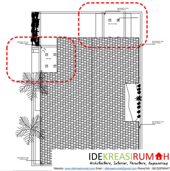 Pencahayaan Alami pada Atap Dak Beton dengan Glass block