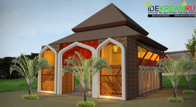 Masjid Tropis Atap Pendopo
