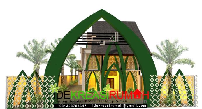 Gerbang Masjid Unik