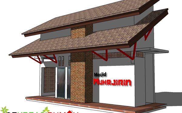 Desain Tempat Wudhu dan Kamar Mandi Sisi Utara